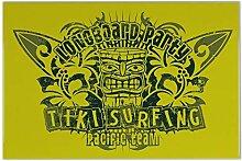 Fliese Kachel Fun Tiki Surfing Keramik bedruckt