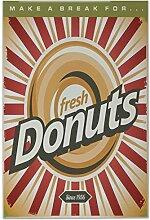 Fliese Kachel Küche Donuts Keramik bedruckt 20x30