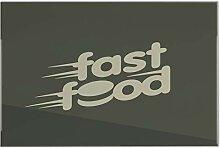 Fliese Kachel Küche Fastfood Keramik bedruckt
