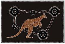 Fliese Kachel Küche känguru aborigine Keramik