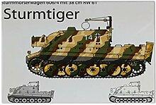 Fliese Kachel Nostalgie Panzer Sturmtiger Keramik