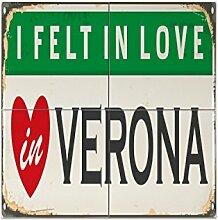 Fliese Kachel Reisen Küche Verona Italien Keramik