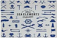 Fliese Kachel Retro Maritime Elemente Keramik