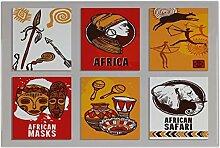 Fliese Kachel Urlaub Reisebüro Afrika Dekoration