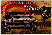 Fliese Kachel Weltenbummler Reisen Afrika Keramik