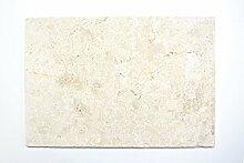 Fliese Kalkstein Naturstein weißgelb Fliese