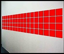 Fliesen Aufkleber Folien einfach selber kleben Größe 15x15cm 165 Stück Sticker