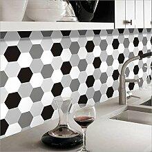 Fliesen Aufkleber Sticker Folie selbstklebend für Fliesen | Deko Fliesenfolie für Küche u. Bad 20cmx5m T605 , 5 , 20cm*5m
