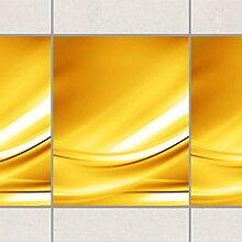 Fliesen Bordüre - Golden Glow 25cm x 20cm,