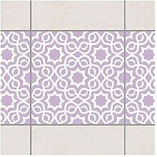 Fliesen Bordüre Islamic Lavender 20x20 cm