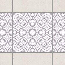 Fliesen Bordüre - Keltisch White Lavender 10cm x