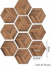 Fliesenaufkleber Diy Home Rutschfeste Holzmaserung