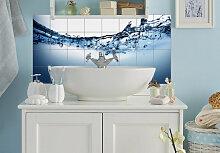 Fliesenaufkleber - Fliesenaufkleber Waterflow