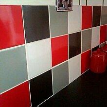 Fliesenaufkleber Küche Wanddeko Ideen - 4 Farben