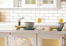 Fliesenaufkleber - Selbstklebende Fliesensticker - Mosaik - Klassisch