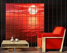 FliesenBild Red Sunse