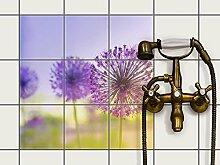 Fliesenfolie selbstklebend 15x15 cm 3x3 Design Spring Flower (Erholung) Klebefolie Küche Bad