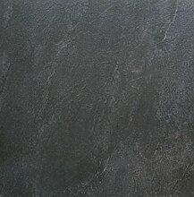 fliesenmax Feinsteinzeug Bodenfliese Arbel black