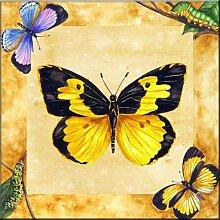 Fliesenwandbild - Dogface Schmetterling mit