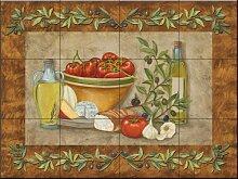Fliesenwandbild - Toskana Treats I von Mary Lou