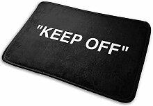 Flimy Na Off White IKEA Keep Off Teppich Schwarze