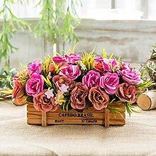 Flinfeays Kunstblumen Gefälschte Blumen Kreative
