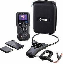 FLIR dm284-flex-kit Imaging Multimeter-Kit mit IGM, Flex aktuellen Sonde und wiederaufladbarer Akku Pack, schwarz