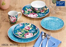 Flirt by R&B Geschirr-Serie Blume Blau Rosabel