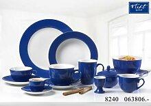 Flirt By R&B Geschirr-Serie Doppio indigo-blau