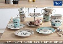 Flirt by R&B Kaffee-Serie My Cup Material 3er Set Jumbobecher My Cup