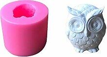 Fliyeong Premium 3D Eule Form Kuchen Fondant