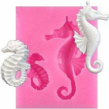 Fliyeong Premium Mini Sea Horse Silikonform