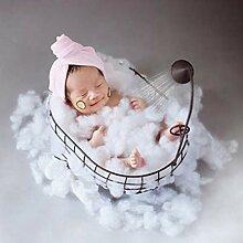 fllyingu Neugeborenes Baby Foto Requisiten Korb,