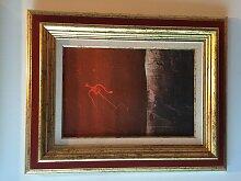 Floating Man Gemälde von Ef Zambo Istvan, 1973