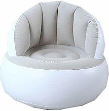 Flocked Sofa, Inflatable Air Lazy Chair Single