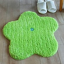 Floor blanket Absorbent personifizierte kreative Wolldecke Apd, grüne Matte, Tür-Matten, Schlafzimmer-Badezimmer-Matte der Kinder ( größe : 60*60cm )