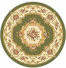 Floor blanket Amerikaner Runde Teppich für Wohnzimmer, Esszimmer, Kaffee, Tisch, Stuhl Computer Mat ( farbe : L , größe : 1.0*1.0m )