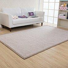 Floor blanket Anti-Blockier-System Absorbent Teppich-Pad für alle Fußboden ( farbe : H , größe : 125*175cm )