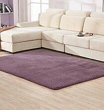 Floor blanket Anti-Blockier-System Rechteckige Teppich für Wohnzimmer, Kaffee, Tisch, Sofa, Schlafzimmer, Bettvorleger, 0.65-1.4m * 1.6-2.0m Teppiche, ( farbe : F , größe : 0.65*1.6m )
