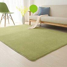 Floor blanket Europäische - Style Rechteckige Teppich für Wohnzimmer, Sofa, Couchtisch, Nacht Teppich ( farbe : A , größe : 100*100cm )