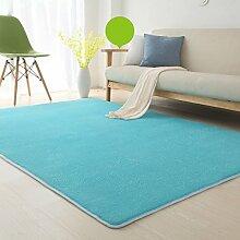 Floor blanket Europäische - Style Rechteckige Teppich für Wohnzimmer, Sofa, Couchtisch, Nacht Teppich ( größe : 80*200cm )