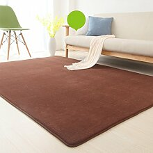 Floor blanket Europäische - Style Rechteckige Teppich für Wohnzimmer, Sofa, Couchtisch, Nacht Teppich ( größe : 63*160cm )