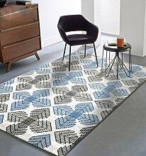 Floor blanket Nordic Minimalist moderne rechteckige Haus Teppich, maschinenwaschbar, Sofa Wohnzimmer Wohnzimmer Schlafzimmer Nacht Teppich, 1.33 * 1.9m Teppiche ( größe : 1.33*1.9m )
