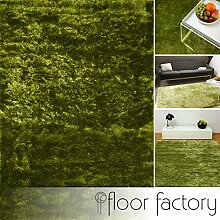 floor factory Exklusiver Hochflor Shaggy Teppich