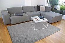 floor factory Gabbeh Teppich Karma grau 160x230 cm