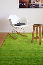 floor factory Gabbeh Teppich Karma grün 160x230