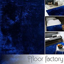 floor factory Moderner Teppich Delight blau