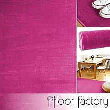 floor factory Moderner Teppich Kolibri rosa/pink