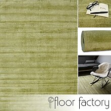 floor factory Moderner Teppich Lounge grün