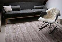 floor factory Moderner Teppich Lounge Hellbraun